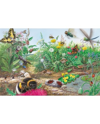 Puzzle Schmidt - Discover the World of Insects, 200 piese, include 1 poster (56293)