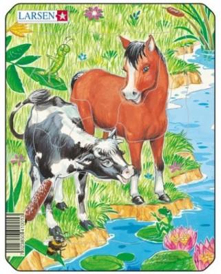Puzzle Larsen - Cute Animals, 10 piese (48506)