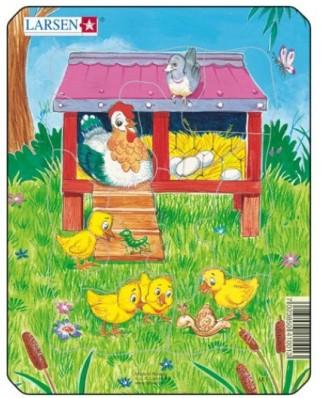Puzzle Larsen - Cute Animals, 10 piese (48508)