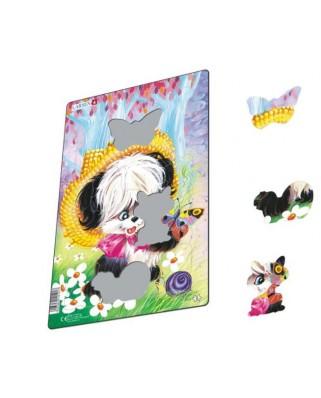 Puzzle Larsen - Cute Animals, 14 piese (59598)