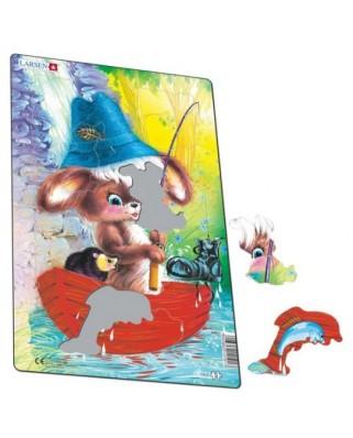 Puzzle Larsen - Cute Animals, 14 piese (59599)