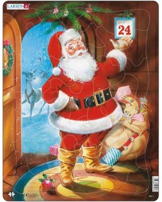 Puzzle Larsen - Der Weihnachtsmann, 33 piese (48437)
