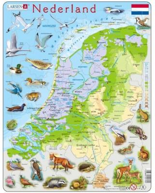 Puzzle Larsen - Die Niederlande (auf Hollandisch), 68 piese (48631)