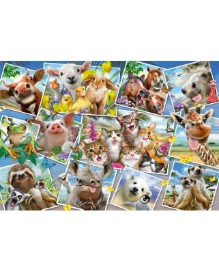 Puzzle Schmidt - Animal Selfies, 200 piese (56294)