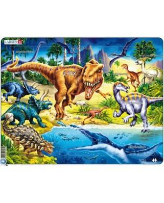 Puzzle Larsen - Dinosaur, 57 piese (48775)