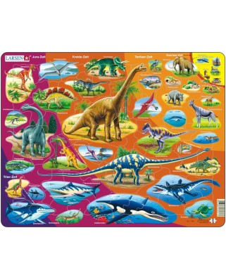 Puzzle Larsen - Dinosaur, 85 piese (48434)