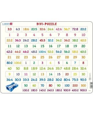 Puzzle Larsen - Divi (Division), 58 piese (47832)