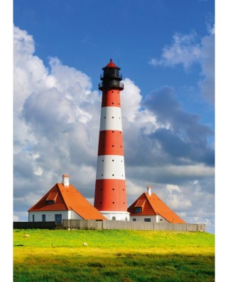 Puzzle Schmidt - Westerhever Lighthouse, 1.000 piese (58319)