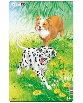 Puzzle Larsen - Dogs, 10 piese (48547)