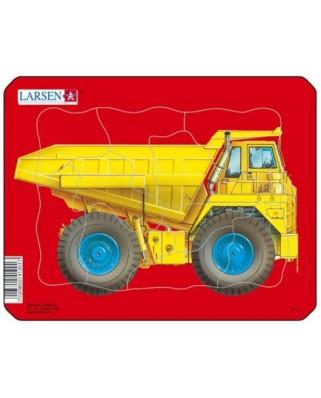 Puzzle Larsen - Dump Truck, 10 piese (48493)
