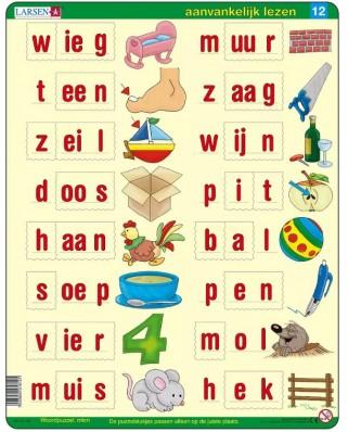 Puzzle Larsen - Dutch Reading 2, 22 piese (63357)