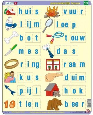 Puzzle Larsen - Dutch Reading 3, 23 piese (63358)