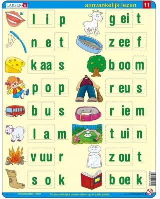 Puzzle Larsen - Dutch Reading 5, 22 piese (63356)