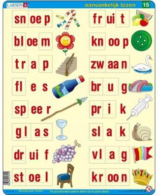Puzzle Larsen - Dutch Reading 5, 29 piese (63360)
