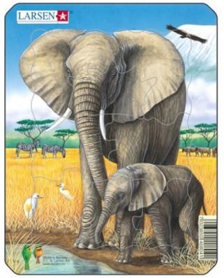 Puzzle Larsen - Elephant, 8 piese (48472)