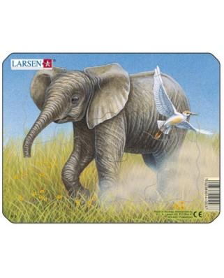 Puzzle Larsen - Elephant, 9 piese (48513)