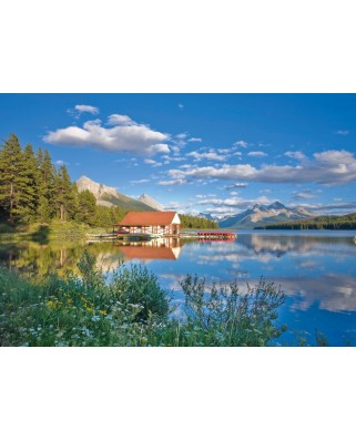Puzzle Schmidt - A Weekend at the Lake, 1.000 piese (58334)