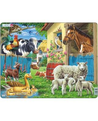 Puzzle Larsen - Farm Animals, 23 piese (48423)
