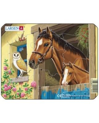 Puzzle Larsen - Farm Animals, 7 piese (48511)