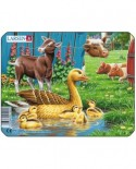 Puzzle Larsen - Farm Animals, 7 piese (48512)