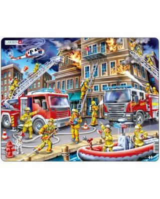 Puzzle Larsen - Firemen, 45 piese (48690)