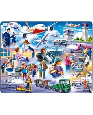 Puzzle Larsen - Flughafen, 42 piese (48705)