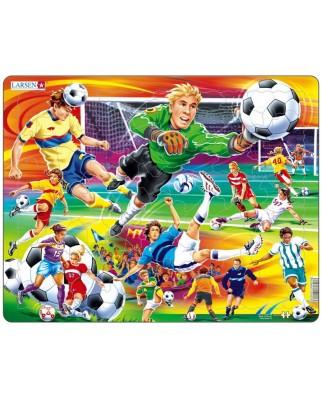 Puzzle Larsen - Football, 65 piese (48700)