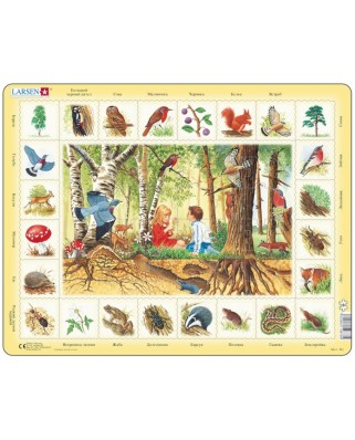 Puzzle Larsen - Forest (in Russian), 48 piese (59539)