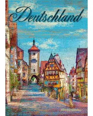 Puzzle Schmidt - Patrick Reid O'Brien: Germany, 1.000 piese (59582)