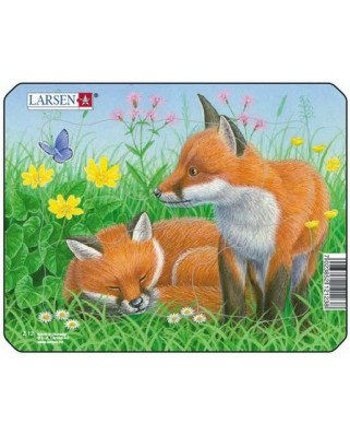 Puzzle Larsen - Fox, 5 piese (50876)
