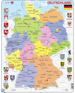 Puzzle Larsen - Germany, 48 piese (48459)