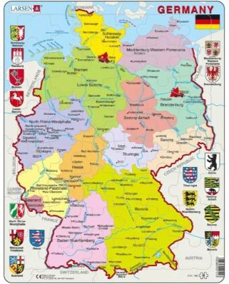 Puzzle Larsen - Germany, 48 piese (63284)