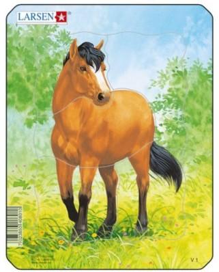 Puzzle Larsen - Horse, 5 piese (48466)