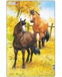 Puzzle Larsen - Horses, 10 piese (48544)