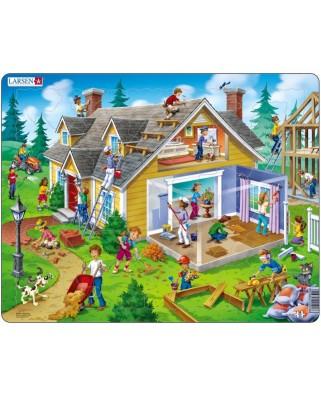 Puzzle Larsen - House, 62 piese (48733)
