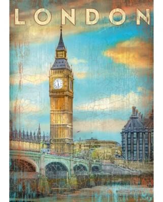 Puzzle Schmidt - Patrick Reid O'Brien: London, 1.000 piese (59585)