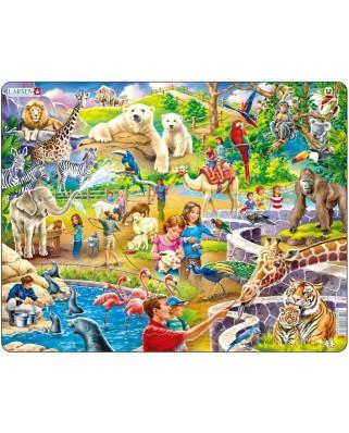 Puzzle Larsen - Im Zoo, 48 piese (48708)