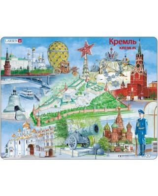Puzzle Larsen - Kremlin Souvenir, 61 piese (48654)