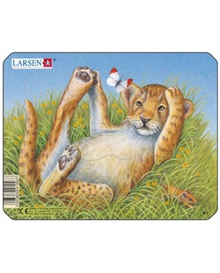 Puzzle Larsen - Leopard, 9 piese (48516)