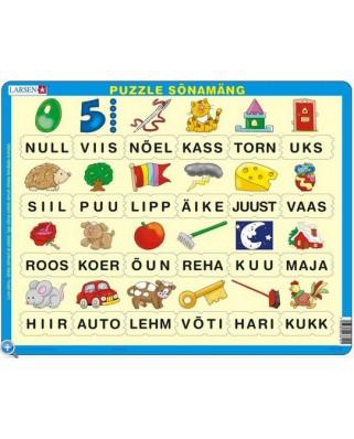 Puzzle Larsen - Lesen lernen (auf Estnisch), 24 piese (48760)