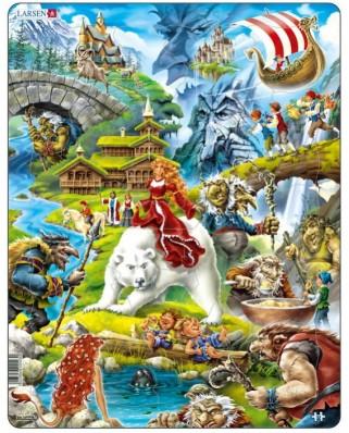 Puzzle Larsen - Marchen, 30 piese (48701)