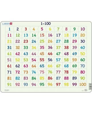 Puzzle Larsen - Mathematik: 1 - 100, 100 piese (48382)