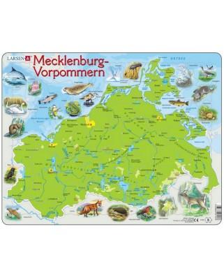 Puzzle Larsen - Mecklenburg-Vorpommern, 60 piese (48201)