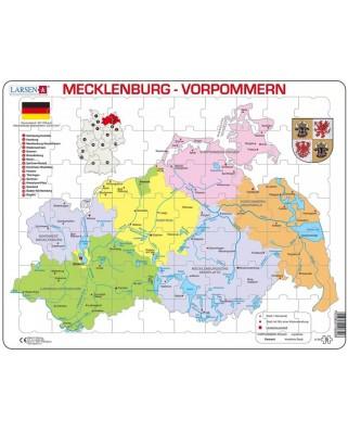 Puzzle Larsen - Mecklenburg-Vorpommern, 70 piese (63290)