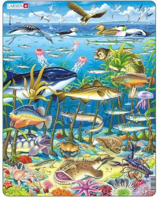 Puzzle Larsen - Meeresbewohner, 60 piese (48416)