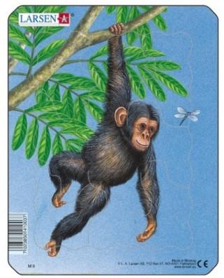 Puzzle Larsen - Monkey, 9 piese (48514)