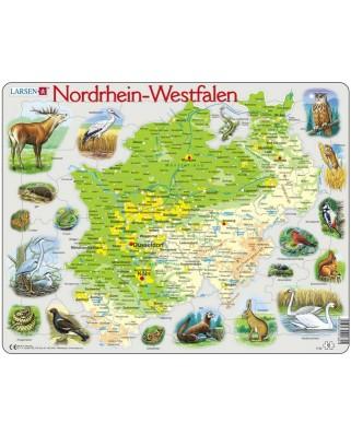 Puzzle Larsen - Nordrhein-Westfalen, 61 piese (48634)