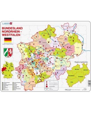 Puzzle Larsen - Nordrhein-Westfalen, 70 piese (48460)