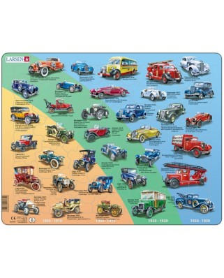 Puzzle Larsen - Old Cars (in Russian), 42 piese (59500)