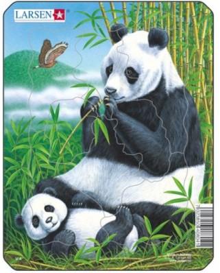 Puzzle Larsen - Panda, 8 piese (48470)